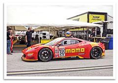 Italia (bogray) Tags: car 30 racecar stpetersburg fl sportscar gt3 momoferrari 458italia ngtmotorsports henriquecisneros pirelliworldchallenge