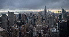 New York Panorama. View from Rockefeller Center (Oleg.A) Tags: nyc panorama usa newyork cityscape unitedstates manhattan rockefellercenter viewpoint megalopolis
