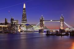 Lasciare Londra non è mai semplice / Leaving London is never easy (Explore!!!) (Tower Bridge, London, England) (AndreaPucci) Tags: uk sunset london towerbridge explore canonef24105mmf4lis canoneos60 theshard saariysqualitypictures andreapucci