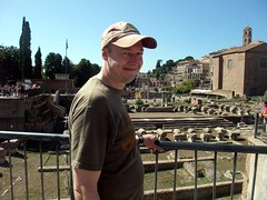 """Me outside the Palatino • <a style=""""font-size:0.8em;"""" href=""""http://www.flickr.com/photos/41849531@N04/16747662094/"""" target=""""_blank"""">View on Flickr</a>"""