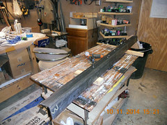 Hank Kennedy table saw project - diy guide rails 06