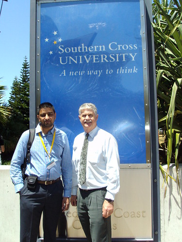 Director Mr. G.S.Kang with Mr. Don Director of Southern Cross University, Australia