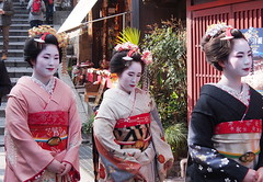 Kyoto 2015 (hunbille) Tags: street japan three kyoto district steps maiko gion slope higashiyama sannenzaka ninenzaka higashiyamadistrict