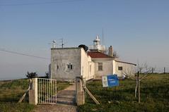 Deniz Feneri (Efkan Sinan) Tags: sunset panorama lighthouse trkiye turquie trkei tr liman gnbatm turchia denizfeneri tekirda trakya maramaraerelisi