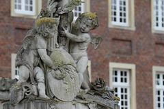 Schloss Nordkirchen (janakintrup) Tags: canon alt architektur engel schloss sandstein gebude moos wetter historisch nordkirchen verfall schlechtes