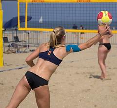 27221251 (roel.ubels) Tags: nk beach beachvolleybal beachvolleyball volleybal volleyball sport topsport scheveningen 2016