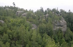 Broumovsk stny (d.koranda) Tags: broumov broumovsko region broumovskstny hills mountains rocks nature outdoors trees forest woods vista lookout