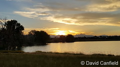 July 18, 2016 - Sunset at McKay Lake in Broomfield. (David Canfield)