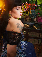 On A Sunny Late Afternoon 3 (dorothylee) Tags: dorothyleephotographyphotography photography photo photograph selfportrait selfie portrait portraits portraiture color colour colorful colourful goldenhour speedlights fashion fashionphotography fashionportraiture flowers garden outdoors summer afternoon