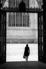 Milan, 2016 (Domenico Pescosolido) Tags: streetphotography silhouette milano citt camminare city fotografiadistrada passeggiare street town walk walking milan italy it blackandwhite leica