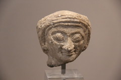 Stone Figure Head from Archaic Period of Sumer, 2900-2340 BC (Gary Lee Todd, Ph.D.) Tags: france louvre paris ancient neareast
