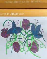 Almaniak 2016 de Maud.it (Maud Taron) #zendessin Feutres  alcool (delphinecingal) Tags: colors couleurs coloring coloriage feutresalcool almaniak2016 maudtaron maudit zendessin