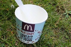 McDonalds McFlurry is not a McFlurry when they are busy (@oakhamuk) Tags: mcdonalds mcflurry is when they busy martinbrookes