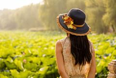 / The Summer Palace (StgoDiaz) Tags: china lake lady back dress chinese beijing hut thesummerpalace