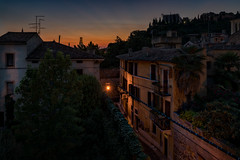 Sunset in town (leguico) Tags: hdr aurorahdr sunset urban landscape city cityscape verona italy
