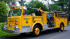 Bedford Village Fireman's Parade (zamboni-man) Tags: westchester county new york police fire ems ambulance whelen federal signal tahoe chevy seagrave bedford hills katonah chief engine rescue ladder tower svu suv ssv tanker town village hamlet hudson valley volunteer fighterers firefighters
