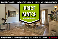 TRAVERTINE TILE PRICE MATCH