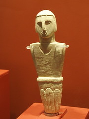 Male figure I (rgrant_97) Tags: figurines statuettes neolithic ancient musem gozo malta ggigantija