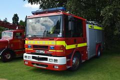 S489 JJT (markkirk85) Tags: peterborough bus rally buses 2016 dennis sabre ex dorset fire rescue service s489 jjt s489jjt engine appliance