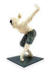 The White Swan (daveh_design) Tags: lego legomoc afol whiteswan dancer ballet legosculpture sculpture