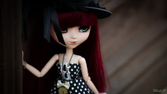 """""""It is not the strong or the smart that survive, but the ones who can bring about change;"""" (MintyP.) Tags: pullip doll groove elwyna merl whispering island wig animal eyes obitsu s sony nex 6 photography mintyp minty poupée"""