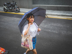 A Girl Named Boram (THE SUBJECT AND LIGHT) Tags: street seoul gwanghwamun district photography beauty boram rain summer humidity moment glance eyes perfect shorty cutie pretty beautiful gorgeous elegant korea korean passing time yes