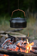 DSC_5858 (mucahidefendi) Tags: nature camping greece nikon fire bushcraft tea