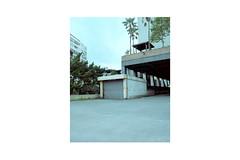 TPE-11 (monochrom-fotoart) Tags: film analog analogue 120 6x7 mittelformat medium format kodak portra kodakportra160 mamiyarz67 mamiya rz67 farbe negativ negative taipei taipeih   newtaipeicity taiwan  monochrom danilo bittorf house factory gate garage door entrance