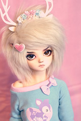 Candy Coated Brat (Oxford_Owl) Tags: angeltoast bjd bluefairy olive