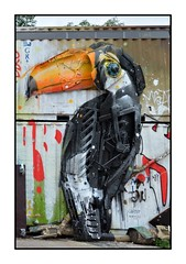 See What One or Toucan Can Do ... (junepurkiss) Tags: streetart recycled upcycled toucan berlin germany
