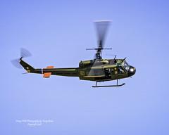 Vietnam Era Bell Huey UH-1H N431LH C/N 71-20257 (Hawg Wild Photography) Tags: vietnam era bell huey uh1h n431lh cn 7120257 national wings armor foundation flying heritage collection nikon terry green painefieldairportkpae 2016skyfair everettwashington