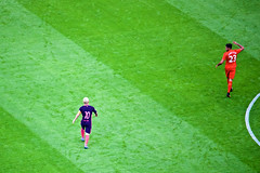 Messi & Can (cchana) Tags: barcelona barelona lfc liverpoolfc liverpool fcb football match players grass wembley game soccer lionelmessi messi emrecan can 10