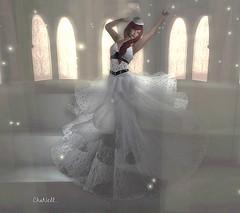 CELESTE.... (chanell.resident) Tags: dress wedding celeste selenecreations hat