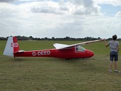 G-DEED / EED Schleicher K 8B cn 590 Bicester 09Aug16 (kerrydavidtaylor) Tags: glider sailplane