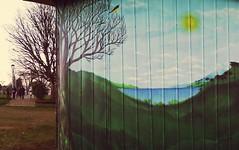 El bosque volverá a crecer donde fue arrancado (Felipe Smides) Tags: mural muralismo felipesmides smides valdivia niebla fuerte wallmapu bosques territorio mapuche naturaleza