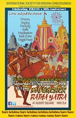 manchester ratha yatra 2016 last (ISKCON Manchester) Tags: festival ratha yatra chariot harekrishna manchester mcr city centre september celebration chanting dancing feasting iskcon50 iskcon