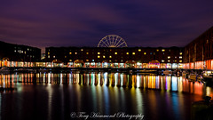 Albert Dock Liverpool (phat5toe) Tags: albertdock liverpool merseyside night lights reflections longexposure water nikon d7000