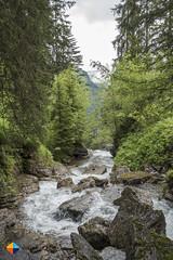 Above the Waterfall (HendrikMorkel) Tags: austria bregenzerwald family sonyrx100iv vorarlberg sterreich mountains alps alpen berge