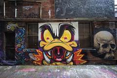 (th3butcherofbilbao) Tags: melbourne street art caper hancock