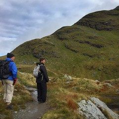 The final slope (barronr) Tags: scotland lochlomondthetrossachsnationalpark benlomond theptarmigan