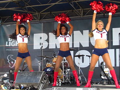 IMG_4991 (grooverman) Tags: houston texans cheerleaders nfl football game budweiser plaza nrg stadium texas 2016 nice sexy legs stomach boots canon powershot sx530