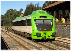 Martingança 08-03-15 (P.Soares) Tags: 350 automotora cp comboio passageiros trains train tren portugalferroviário transportesxxi terminalintermodal lusocarris