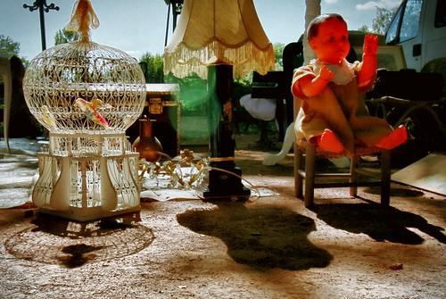 marché d'antiquités