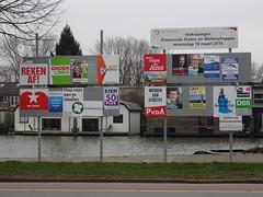 Election Posters in Nieuwegein (harry_nl) Tags: netherlands poster utrecht nederland parties elections province nieuwegein verkiezingen waterschap 2015 provincie waterboard hoogheemraadschap partijen destichtserijnlanden