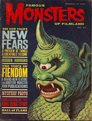 Famous Monsters No. 27 (Warren March 1964) (Donald Deveau) Tags: magazine cyclops warren sciencefiction monstermovie forrestjackerman famousmonsters sinbad rayharryhausen fantasyfilm