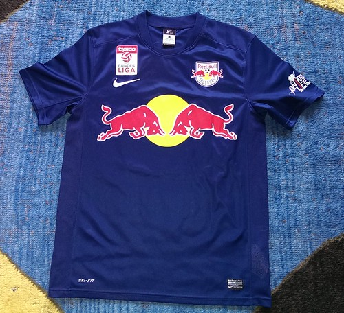 FC Red Bull Salzburg match worn shirt 2014/15 Martin Hinteregger vs. FC Admira Wacker Mödling (05.03.2015)
