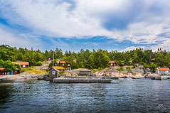 Fiverstra jetty and houses, Stockhom (Sweden) (Tommie Hansen) Tags: ocean travel sea summer seascape nature water landscape scenery sweden stockholm jetty archipelago nex stockholmsweden stockholmarchipelago fjrdlng swedisharchipelago swedishhouse stockholmskrgrd swedishnature swedishcottage stockholmsln swedishlandscape stockholmcounty southstockholm swedisharchitecture nex6 swedenarchipelago fiverstra tommiehansen fjrdlngstockholm