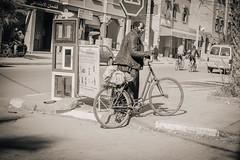 Street Man (toletoletole (www.levold.de/photosphere)) Tags: street cyclist beggar morocco zagora marokko bettler fahrradfahrer