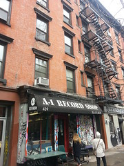 A1 Record Shop, East Village, New York