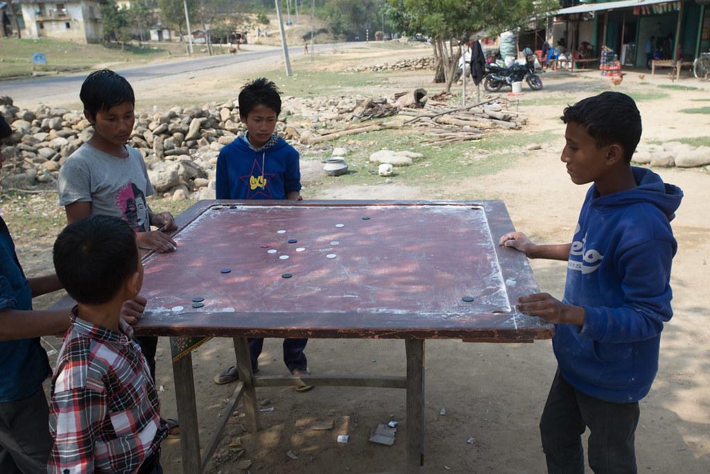 Nepali road games